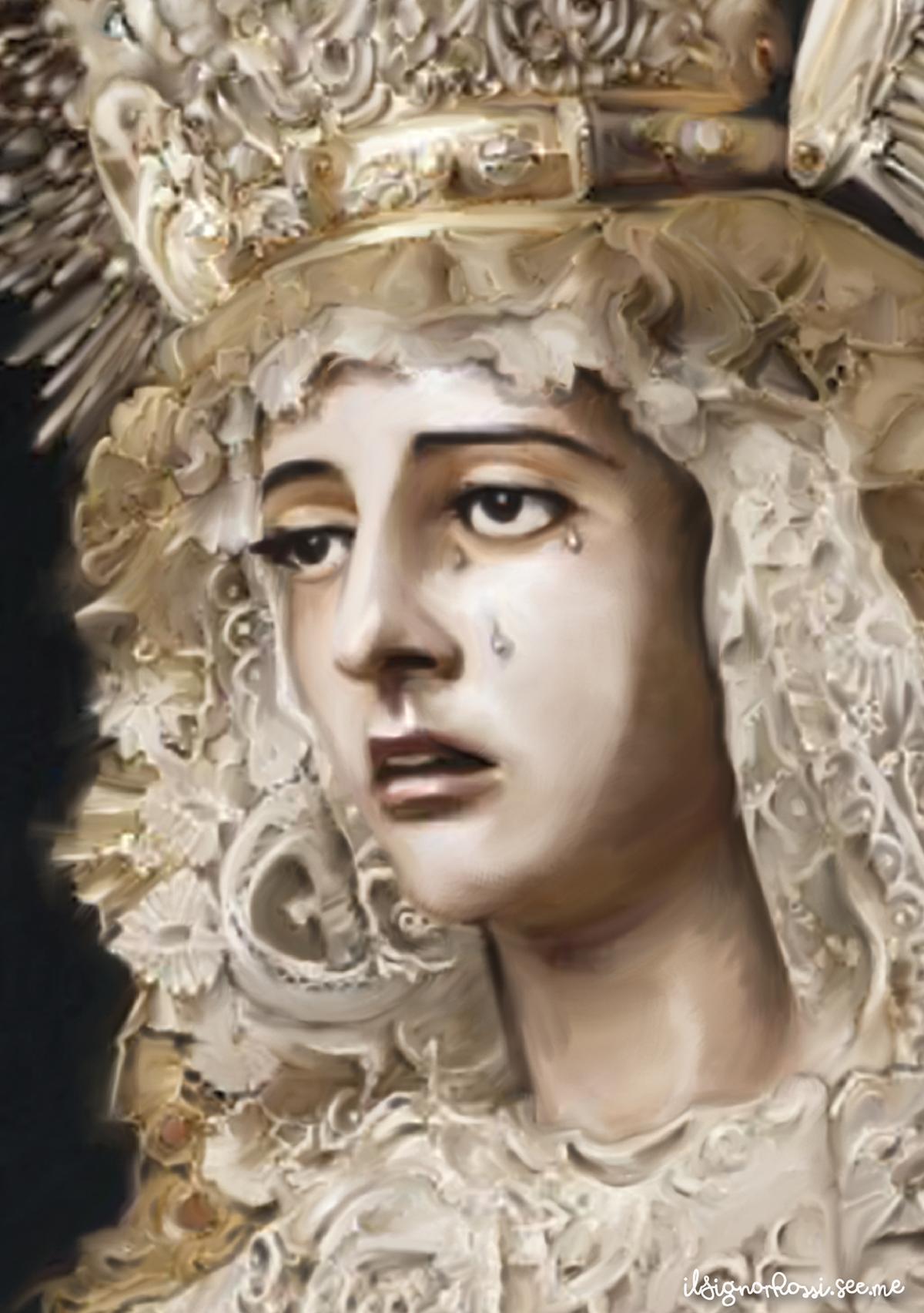 Santísima Virgen María en el misterio de su Inmaculada Concepción (Hdad. del Silencio)
