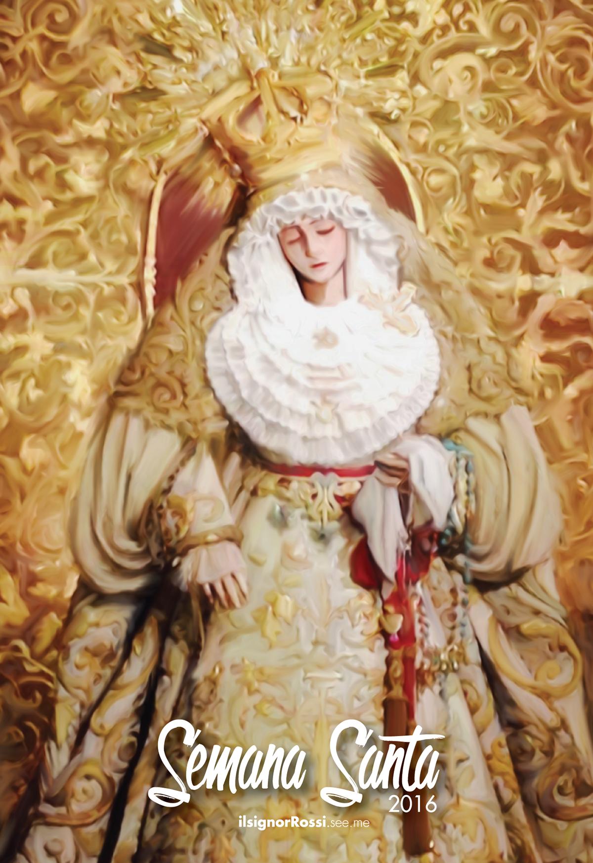 María Santísima del Rosario (Hdad. de Monte-Sion)